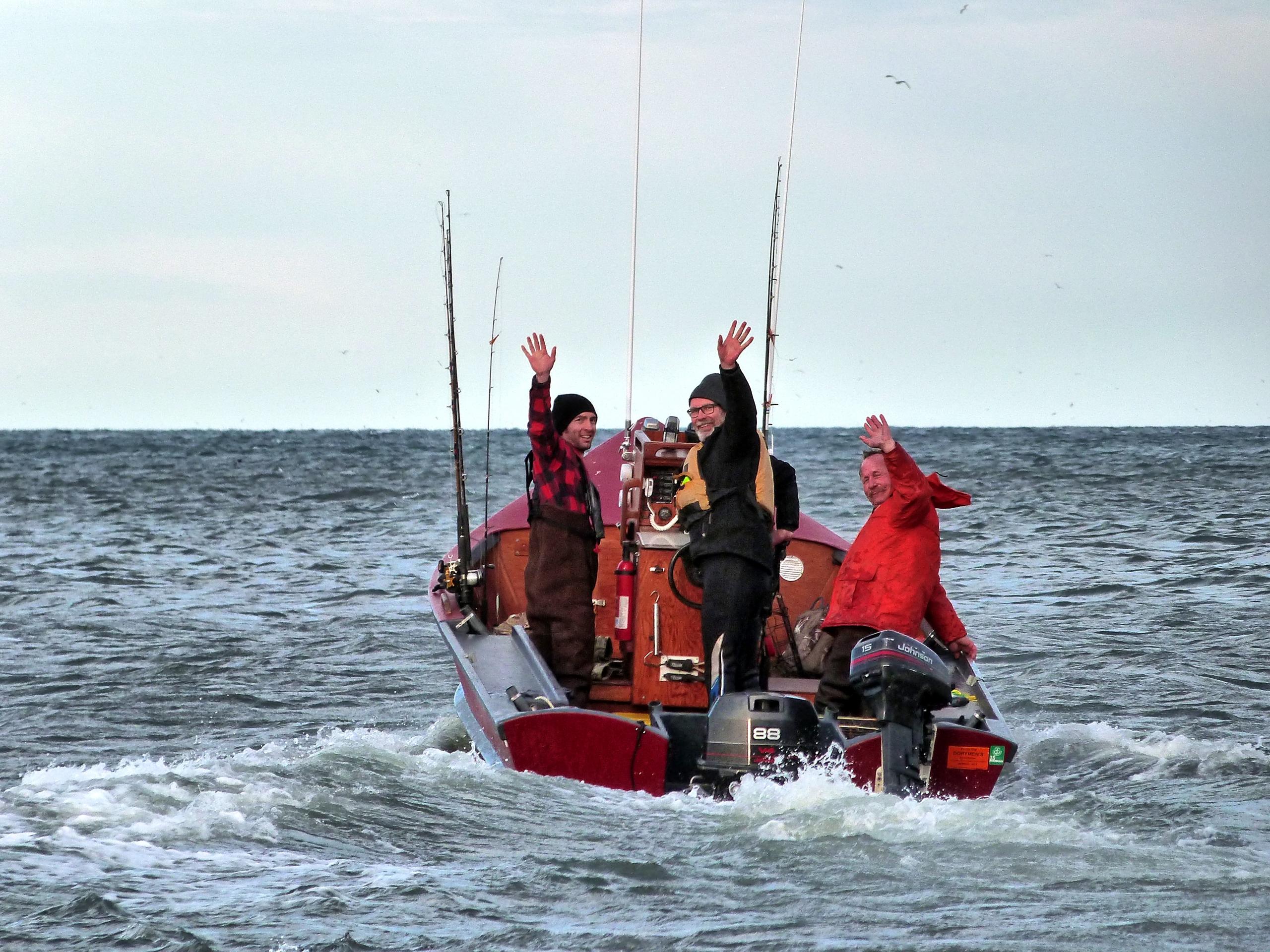 Captains Five Finger Checklist Boating Safety