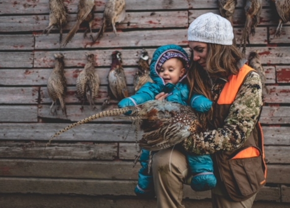 april_vokey_hunting_with_her_daughter_pheasants
