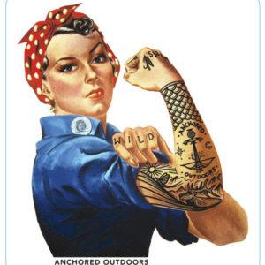 AO International Women's Day Decal
