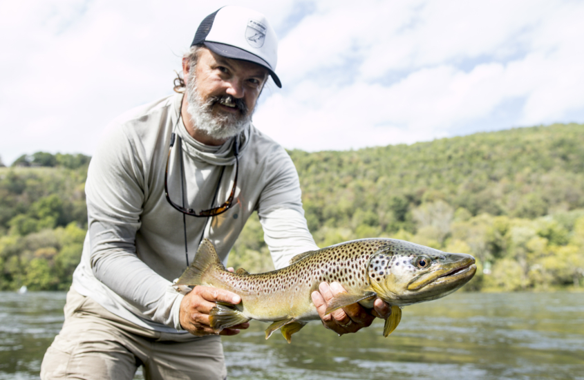 Steve Dally Predatory Brown Trout