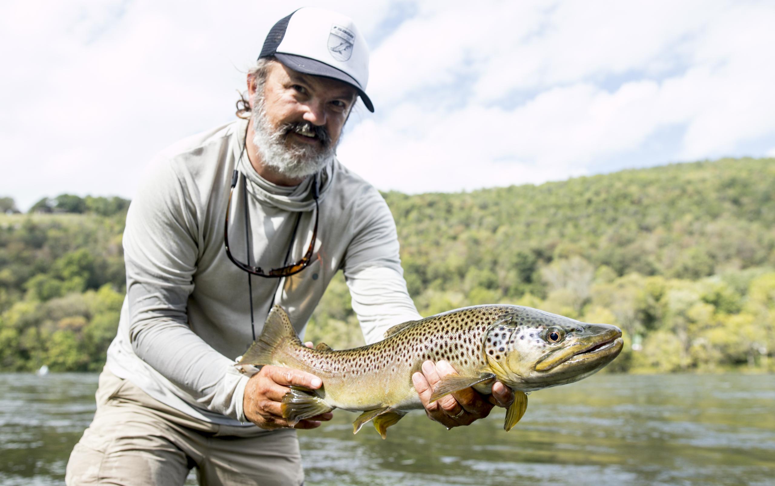 Steve Dally Predatory Brown Trout