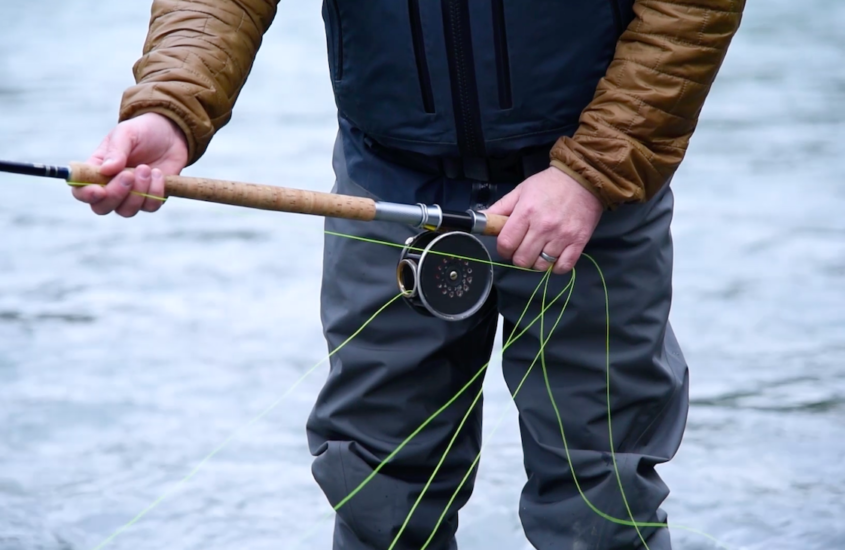 tim_arsenault_spey_casting_how_to_hold_fly_line_loops