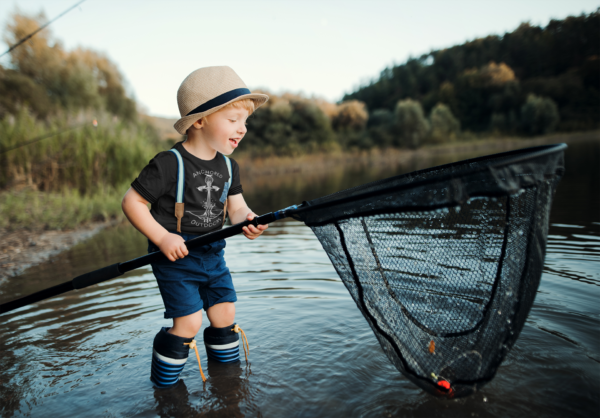Anchored Outdoors Children Shirt Fishing