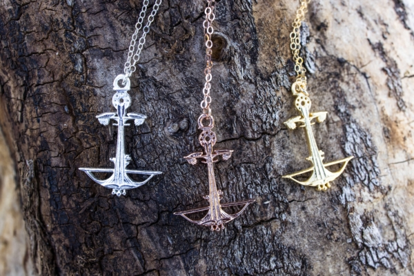 Anchored Outdoors Necklace by Padgett Hoke