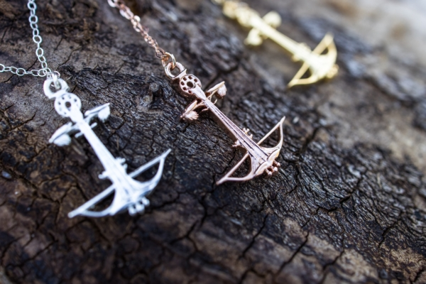 Anchored Outdoors Jewellery Necklace Padgett Hoke